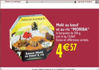 Ramadan 2007 Carrefour, Auchan, Leclerc, Cora, Géant Casino maffe