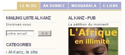 Google Analytics - Le cap des 100 abonnés RSS est franchi pour Al-Kanz - newsletter