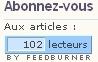 Google Analytics - Le cap des 100 abonnés RSS est franchi pour Al-Kanz