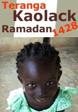 Ramadan 2007 : des tonnes de riz distribuées par l'association Teranga-Kaolack