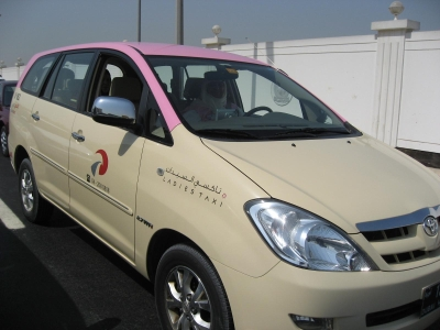 Des taxis roses réservés aux femmes