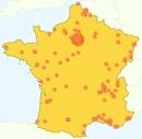 Google Analytics - Al-Kanz, la France et vous : quelques chiffres en cartes (janvier 2008)