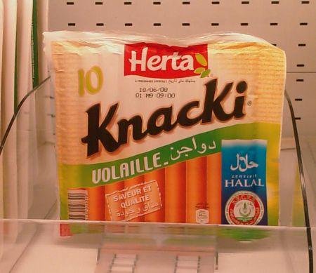 Herta se dit halal