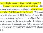 feuilles de brick le parisien