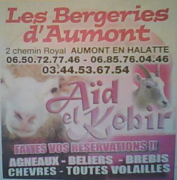 Achetez votre mouton pour l'aïd el-kebir