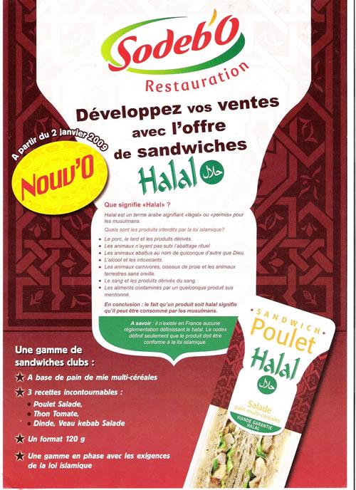 Sodebo fait du halal