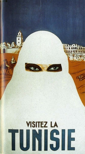 Tunisie - burqa