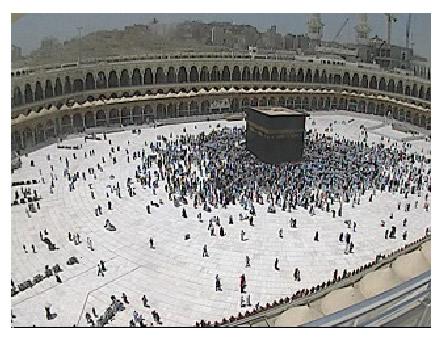 La kaaba en live for L interieur de la kaaba