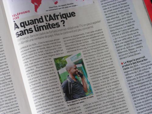 Al-Kanz dans Afrique Magazine