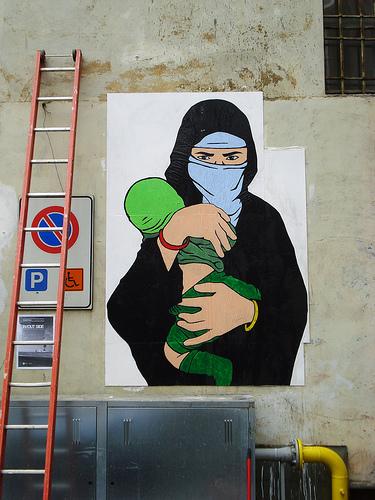 hijab bébé Turin