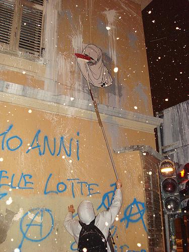 hijab mur Turin