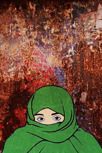 hijab vert Turin