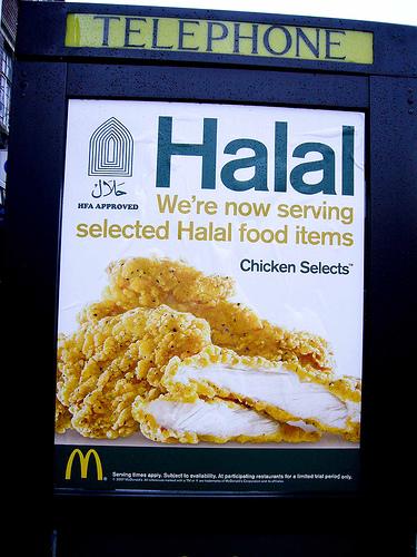 McDonald's s'affiche halal