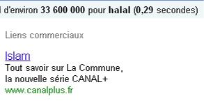 Une tranche de halal pour Canal +