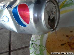 Pepsi grenouille