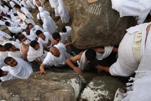 Le hajj, c'est Arafat
