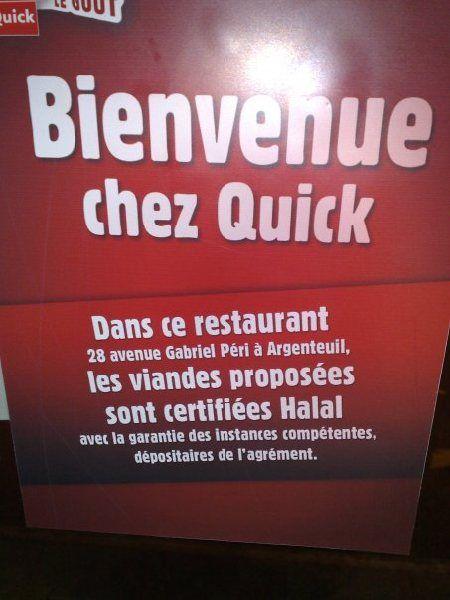 Halal aux couleurs de Quick