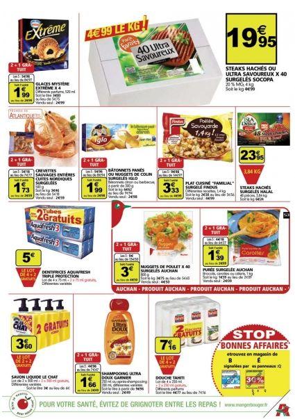 Halal Auchan grande distribution