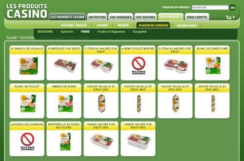 Halal Wassila Casino grande distribution