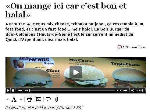 fast food halal