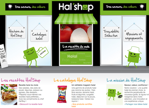 Hal'shop, magasin de proximité tout-halal