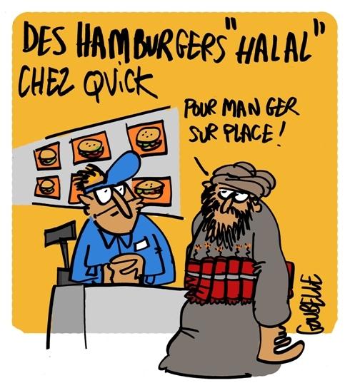 Plus de halal chez Quick : mesure antiterroriste ?