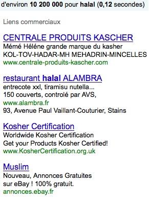 Le casher a besoin du halal et le montre