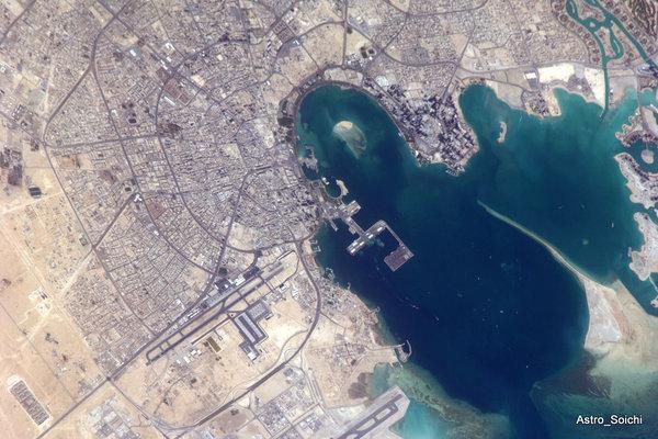 L'Arabie vue de l'espace
