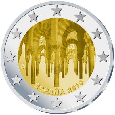 2 euros Espagne Cordoue