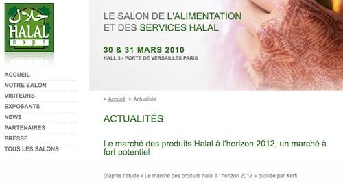 Xerfi au Salon du halal : audace ou inconscience ?
