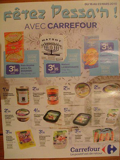 Carrefour Pessah
