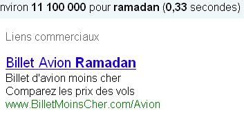 Ramadan avant l'heure