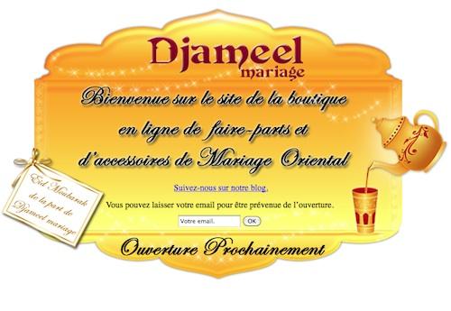 Djameel Mariage