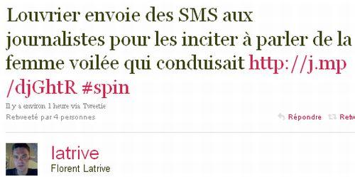 Louvrier SMS