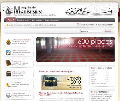 Montataire : la mosquée a son site