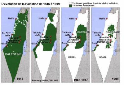 La Palestine annexée par Israël