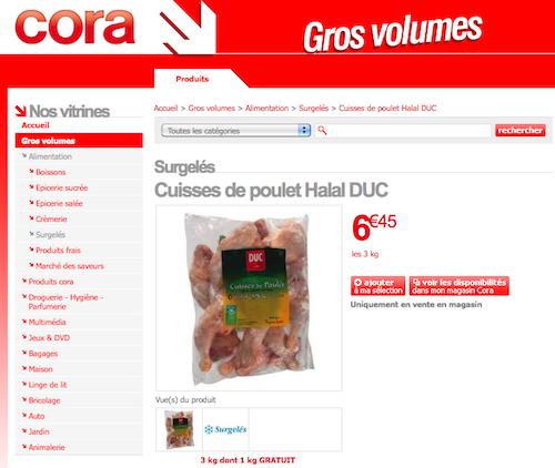 Cora Duc halal