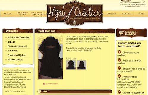 Hijab Création, vêtements pour femmes musulmanes