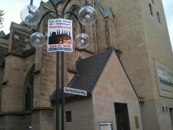 Anti Minaret en Allemagne