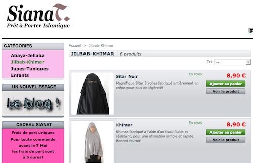 Sianat, vêtements pour femmes musulmanes