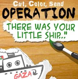 envoie ton bateau à Gaza