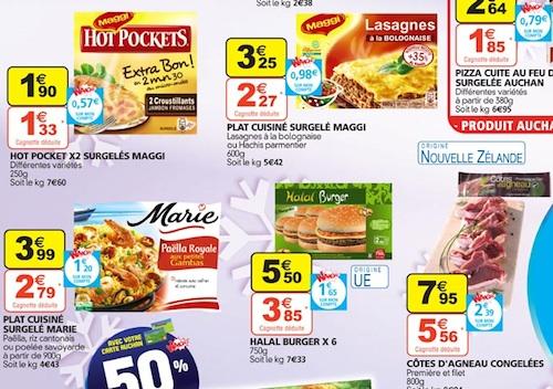Halal - Auchan