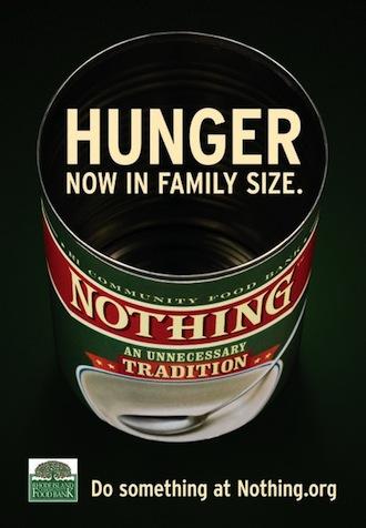 la faim, taille famille