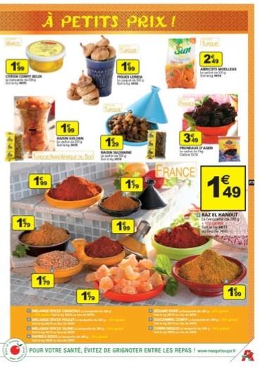 Chez Auchan, ramadan chiche, discret, oriental