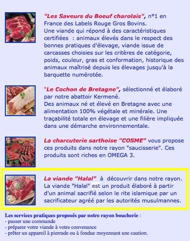 halal Leclerc