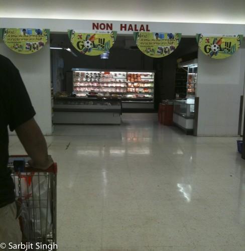 Non halal en Malaisie