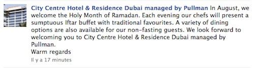 ramadan Pullman