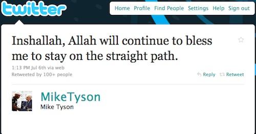 Mike Tyson à la Kaaba
