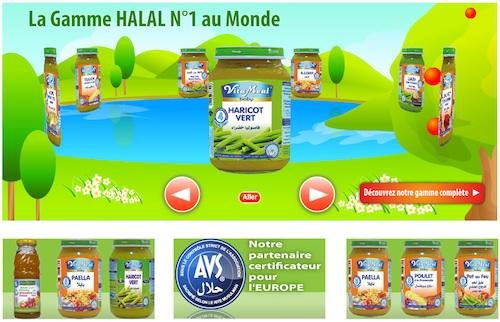 Vitameal, autres petits pots halal pour bébé