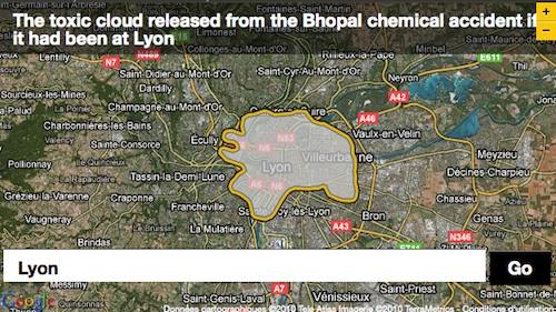 Si la catastrophe de Bhopal avait eu lieu à Lyon